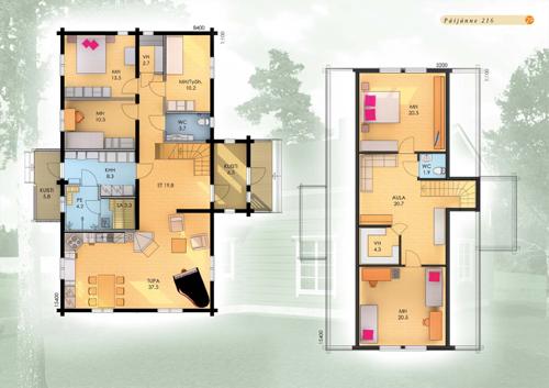 Argonn 39 bois maison bois finlandaise paijanne for Construire une maison en zone n